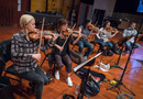 The violin section on <em>Blindspot</em>