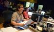 Music editor Curt Sobel, ProTools recordist Vinnie Cirilli, and assistant score mixer Tyson Lozensky