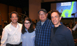Composer Jeff Danna, producer Denise Ream, director Peter Sohn and composer Mychael Danna