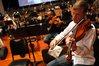 Principal violist Darrin McCann leads the viola section