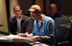 Composer Michael Giacchino reviews a cue from his score to <i>Inside Out</i>