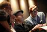 Director Pete Docter, producer Jonas Rivera, and composer Michael Giacchino