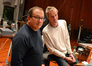 Orchestra Contractor Peter Rotter and conductor Nick Glennie-Smith
