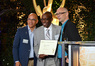 Emmy nominee Greg Phillinganes (<em>Stevie Wonder: Songs In The Key Of Life</em>) Emmy nominee Greg Phillinganes (<em>Stevie Wonder: Songs In The Key Of Life</em>) with Rickey Minor and Michael A. Levine