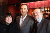 Film Music Society's Marilee Bradford, Oscar nominee Alexandre Desplat and film music historian/journalist Jon Burlingame
