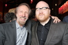 Academy governor Charles Bernstein and Oscar nominee Johann Johannsson
