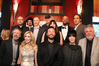Clockwise from top-left: Johann Johannsson, Julian Raymond, Gary Yershon, Gregg Alexander, Danielle Brisebois, Lonnie Lynn (aka Common), Alexandre Desplat, Ashley Irwin, Diane Warren, Shawn Patterson, Kim Campbell and Charles Bernstein