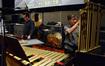 Percussionists Bernie Dresel and Brian Kilgore