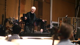 John Williams conducts the Hollywood Studio Symphony on <i>Star Wars: The Force Awakens</i>