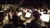 The Hollywood Studio Symphony records a cue from composer John Williams' score for <em>Star Wars: The Force Awakens</em>