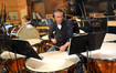 Percussionist Wade Culbreath on timpani