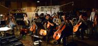 The cello section