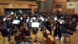 The Hollywood Studio Symphony recording Tom Holkenborg's score to <i>Deadpool</i>