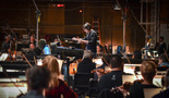 Composer/conductor Thomas Newman performs with the Hollywood Studio Symphony