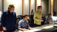 Music editor Adam Smalley, additional music composer Philip Klein, composer Carter Burwell and scoring mixer Michael Farrow