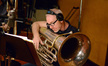 Doug Tornquist on tuba