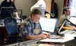 Scoring mixer Michael Farrow and stage recordist Tom Hardisty