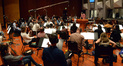Additional music composer Philip Klein conducts the Hollywood Studio Symphony