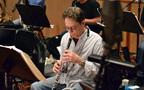 An oboist rehearses