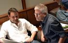 <i>Galavant</i> creator Dan Fogelman and composer Alan Menken