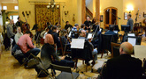 The orchestra on the the <i>House of Cards: Season 4</i> sessions