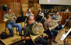 The French horn section