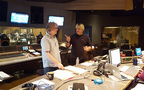 Scoring mixer Simon Rhodes and composer Simon Franglen discuss a cue