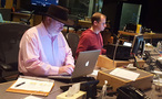 Music editor Joe E. Rand and ProTools recordist Kevin Globerman