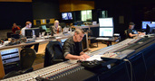 Score mixer Phil McGowan, music editor Mary Parker, recording mixer Jim Hill, and stage recordist Tim Lauber