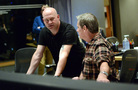 Composer Trevor Morris and recording mixer Jim Hill discuss a cue