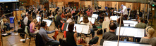 The orchestra performs a cue from composer and conductor Chris Lennertz's score to <i>Ride Along 2</i>