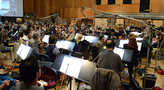The orchestra records a cue from <i>Star Trek Beyond</i>
