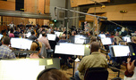 Conductor/orchestrator Tim Simonec records with the Hollywood Studio Symphony
