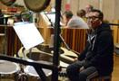 Percussionist Alex Acu�a