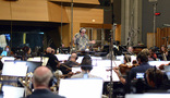 Orchestrator Tim Simonec conducts the Hollywood Studio Symphony