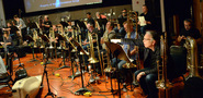 A large brass section was used for the score to <i>Storks</i>