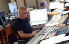 Scoring mixer Brad Haehnel and stage recordist Tom Hardisty