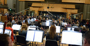The view from the woodwind section on the <i>X-Men: Apocalypse</i> sessions