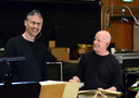 Percussionists Wade Culbreath and M.B. Gordy