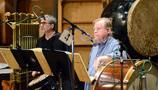Percussionists Bob Zimmitti and Don Williams