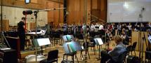 Choir conductor Jasper Randall and the choir recording on <i>X-Men: Apocalypse</i>