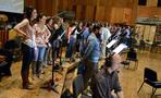 The choir performs on <i>X-Men: Apocalypse</i>