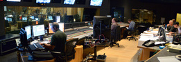 The booth at work during the sessions for John Ottman's score to <i>X-Men: Apocalypse</i>