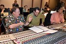 Executive Producer John Lasseter, composer Michael Giacchino and scoring mixer Joel Iwataki