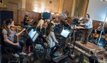 Nicholas Dodd conducts the Hollywood Studio Symphony on <em>Alias Grace</em>