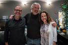 Composer Randy Kerber, guest Cameron Eldred, and producer Helen Nightengale