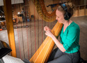 Harpist Alison Bjorkedal