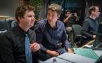 Orchestrators Jonathan Beard and Henri Wilkinson, additional music composer Antonio Di Iorio, and ProTools recordist Kevin Globerman