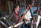 Rose Corrigan plays the bassoon