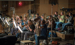 The massive brass section on <i>The Dark Tower</i>